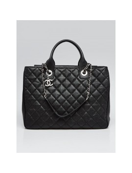 Black Quilted Caviar Leather Urban Companion by Chanel