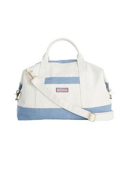 Chambray Bottom Weekender Bag by Vineyard Vines