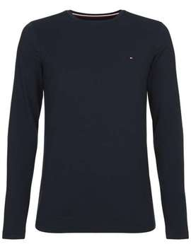 Long Sleeve Stretch Slim Fit Top by Tommy Hilfiger