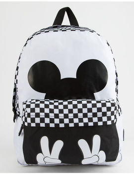 Disney X Vans Realm Checkerboard Mickey Backpack by Vans