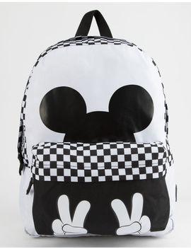 Disney X Vans Realm Checkerboard Mickey Backpack by Vans