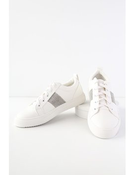 Opal White Sneakers by Report