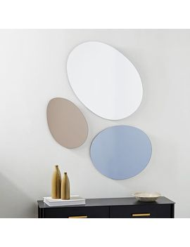 Pebble Trio Mirrors (Set Of 3) by West Elm