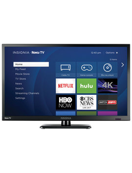 "Insignia 24"" 720p Led Roku Smart Tv (Ns 24 Dr220 Ca18)   High Glossy   Only At Best Buy by Insignia"