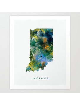 Indiana Art Print by