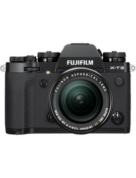 X T3 Mirrorless Digital Camera With 18 55mm Lens (Black) by Fujifilm