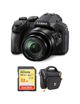 Lumix Dmc Fz300 Digital Camera With Accessories Kit by Panasonic