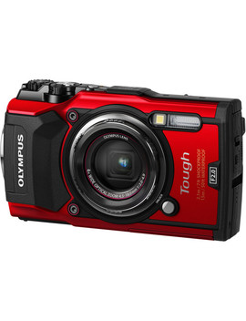 Tough Tg 5 Digital Camera (Red) by Olympus