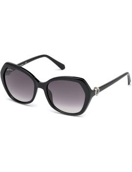 Swarovski Sunglasses, Sk0165   01 B, Black by Swarovski