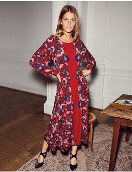 Zoe Jersey Midi Dress by Boden