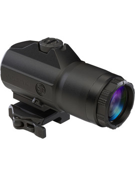 4x Slide To Side Juliet4 Reflex Sight Magnifier (Matte Black) by Sig Sauer
