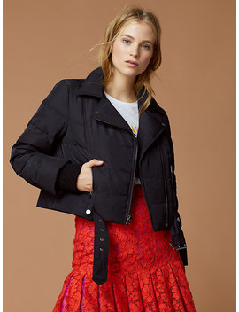 Puffer Moto Jacket by Dvf
