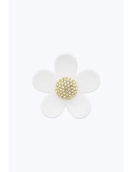 Small Daisy Pin by Marc Jacobs