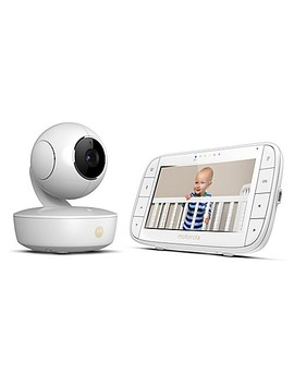 """Motorola® Mbp36 Xl Portable 5"""" Video Baby Monitor In White by Buybuy Baby"""