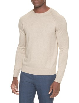 Premium Luxe Crew Neck Pullover Sweater by Banana Republic Factory