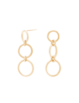 Figure Earrings   $69 by Mejuri