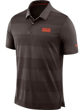 Nike Men's Cleveland Browns Sideline Early Season Brown Polo by Nike