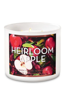 Heirloom Apple   3 Wick Candle    by Bath & Body Works