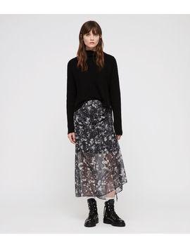 Ariya Lisk Skirt by Allsaints