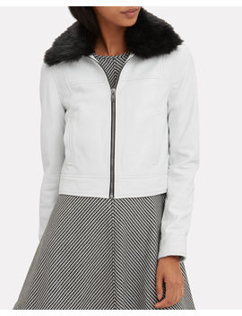 Lincoln Faux Fur Collar Jacket by The Mighty Company