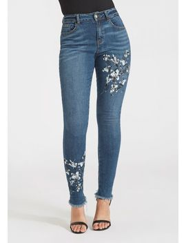 Tall Brooklyn Painted Skinny Jeans by Alloy