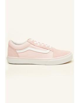 Vans Old Skool Chalk Pink/True White by Universal Store