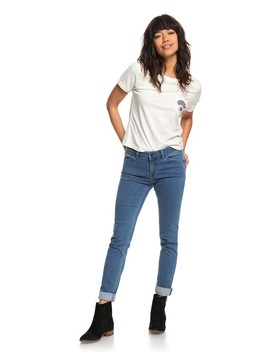 Crazy Maze Skinny Fit Jeans by Roxy