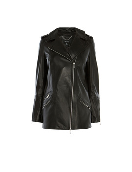 Longline Leather Jacket by Jd015 Kd090 Fd059 Jd016 Jd105 Jd014 Jd092 Jd010 Cd015 Dc030