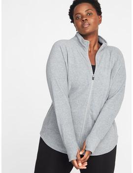 Go Warm Micro Performance Fleece Plus Size Zip Jacket by Old Navy