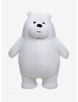 We Bare Bears Ice Bear Standing Plush by Hot Topic