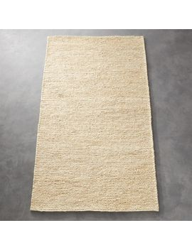 Gobi Braided Jute Rug by Crate&Barrel