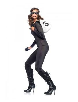 Black 3 Pc. Bandit Kit by Ami Clubwear