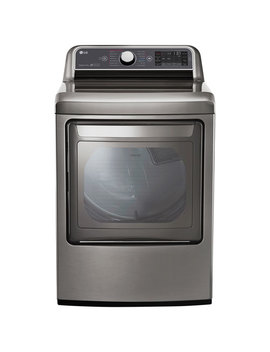 Lg 7.3 Cu. Ft. Electric Steam Dryer (Dlex7600 Ve)   Graphite Steel by Lg Electronics