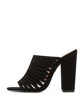 Strappy Mule Sandals by Charlotte Russe