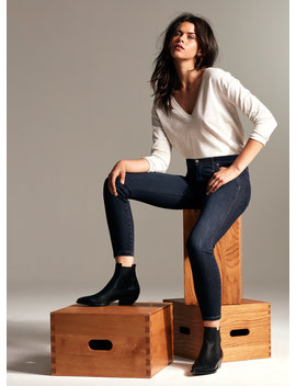 The Nico Mid Rise Crop Jean by Denim Forum