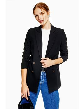 Double Breasted Jacket by Topshop