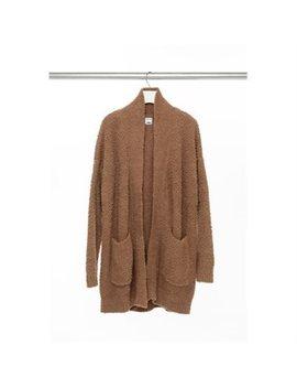 Shawl Collar Cardigan   Camel Ml by Indigo