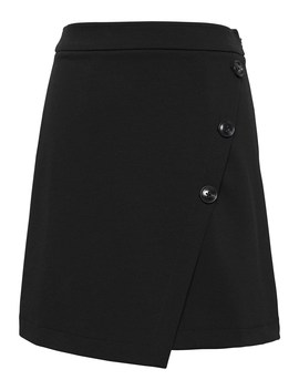 Wrap Front Mini Skirt by Banana Repbulic