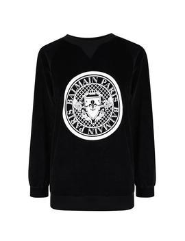 Coin Logo Sweatshirt by Balmain