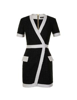 Tweed Mini Dress by Balmain