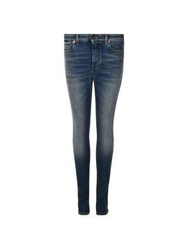 High Rise Jeans by Saint Laurent
