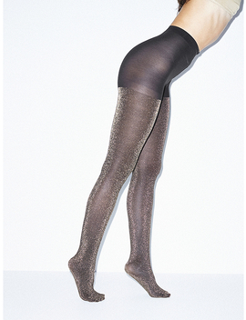 Metallic Pantyhose by American Apparel