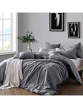 Swift Home Prewashed Yarn Dyed Cotton Duvet Cover Set by Bed Bath & Beyond