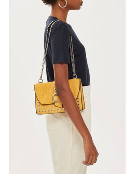 Bronte Suede Shoulder Bag by Topshop