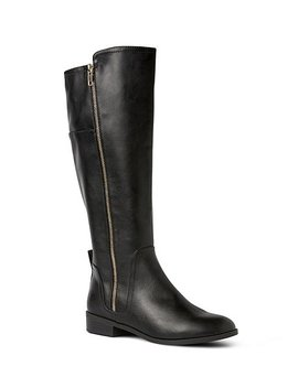 Women's Mia Full Zip Knee High Boots by Dh