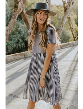 St. Louis Gingham Dress by Roolee
