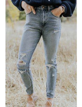 Randolph Distressed Jeans by Roolee
