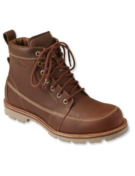 Men's East Point Waterproof Boots, Moc Toe by L.L.Bean