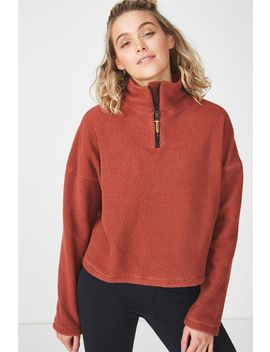 Sherpa Long Sleeve Top by Cotton On