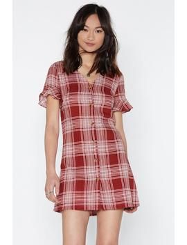 On The Square Mini Dress by Nasty Gal